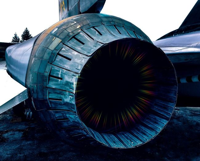 Stand Back Air Vehicle Sky No People Airplane Transportation Turbine Nature Aerospace Industry Engine Mode Of Transportation Architecture Blue Close-up Jet Engine Pattern Day Technology Metal Outdoors Travel
