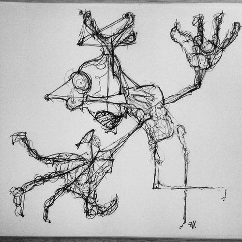Man Art Grafiti Thebestdra ink line black instalovers instagramers illustration