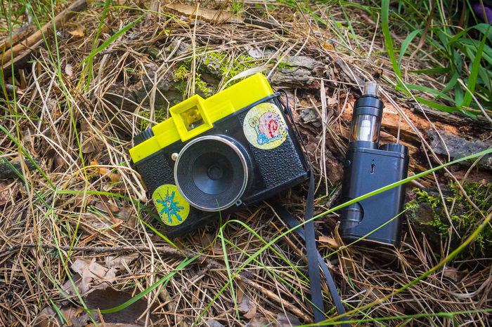 Recreation  Vaporizer  Camping Close-up Day Grass Hipster Hobby No People Outdoors Pinhole Camera