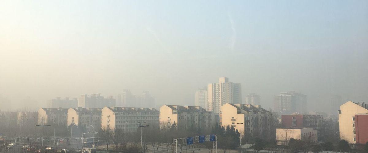 现在的北京 雾霾 City Beijing Outdoors Now now