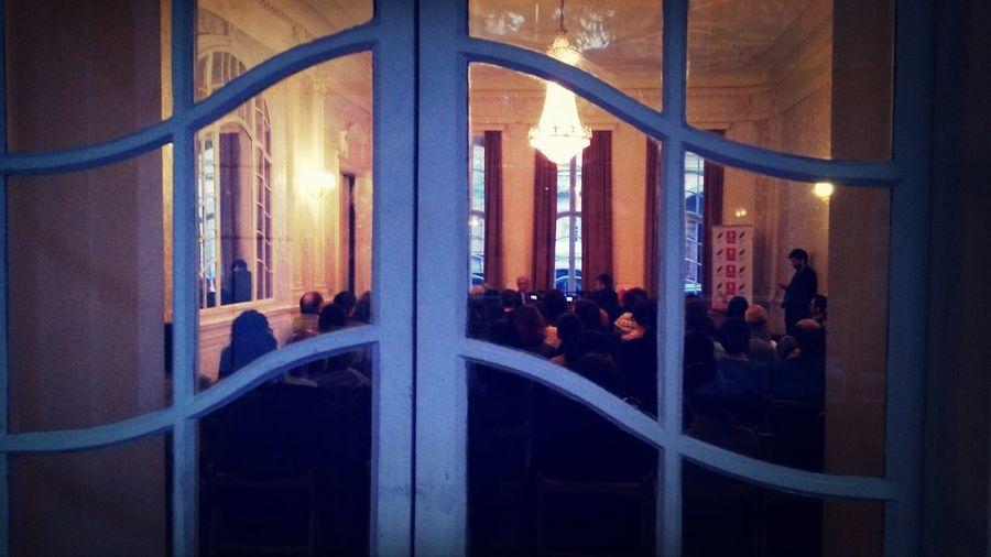 რისმაგ გორდეზიანის ლექცია ევროპაზე Lecture European History Writers' House