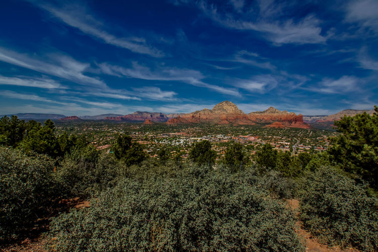 Beauty In Nature Canyon Cloud - Sky Day Landscape Mountain Nature No People Outdoors Plant Remote Scenics Sedona