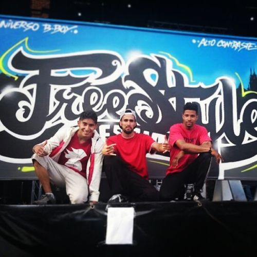 "2nd Place in ""Freestyle Session Spain"" from Salamanca"