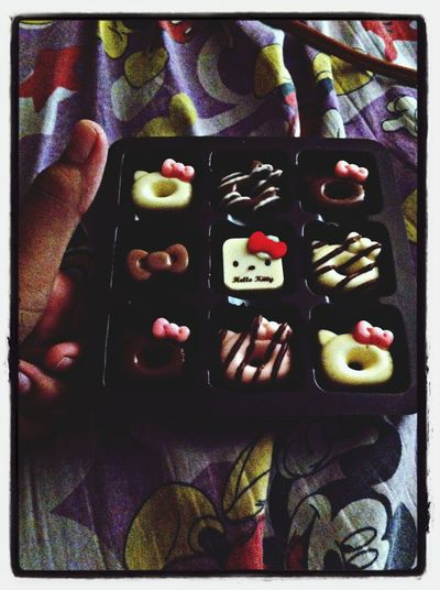 Want some?? Food Photography Hellokitty Food Chocolate