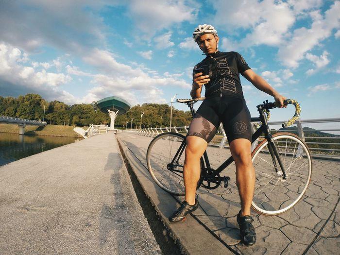 Eveninh sesh Fixed Gear GoPro Hero3+ Ride Or Die Sunset