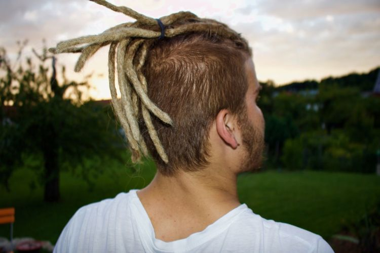Dreadlock Guy Portrait EyeEm Best Shots Young Guy Dreadlocks One Person Young Adult Portrait Focus On Foreground Real People Young Men Lifestyles Sky Casual Clothing Leisure Activity Day Close-up Plant Nature Adult Hair Front View Hairstyle Outdoors Nature Men Hair Adult Beard The Portraitist - 2018 EyeEm Awards