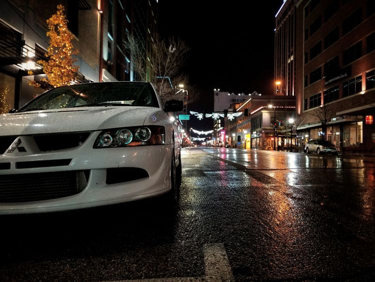 Night Wet Car Street Outdoors EyeEm Selects Thisisboise 4g63t AWD  Evo Night Photography EyeEm Best Edits Hanging Out This Is Where I Live... EyeEmBestPics EyeEm Gallery Modern Galaxy EyeEm Best Shots Eye For Photography NewThings Evolution  City Water
