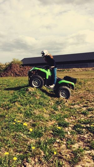 Out to play Atv Likeit That's Me Relaxing