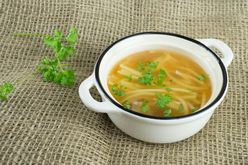 Bowl Brother Close-up Day Food Food And Drink Freshness Healthy Eating Hot Indoors  No People Noddles Parsley Ready-to-eat Serving Size Soup Table Vegetable Soup
