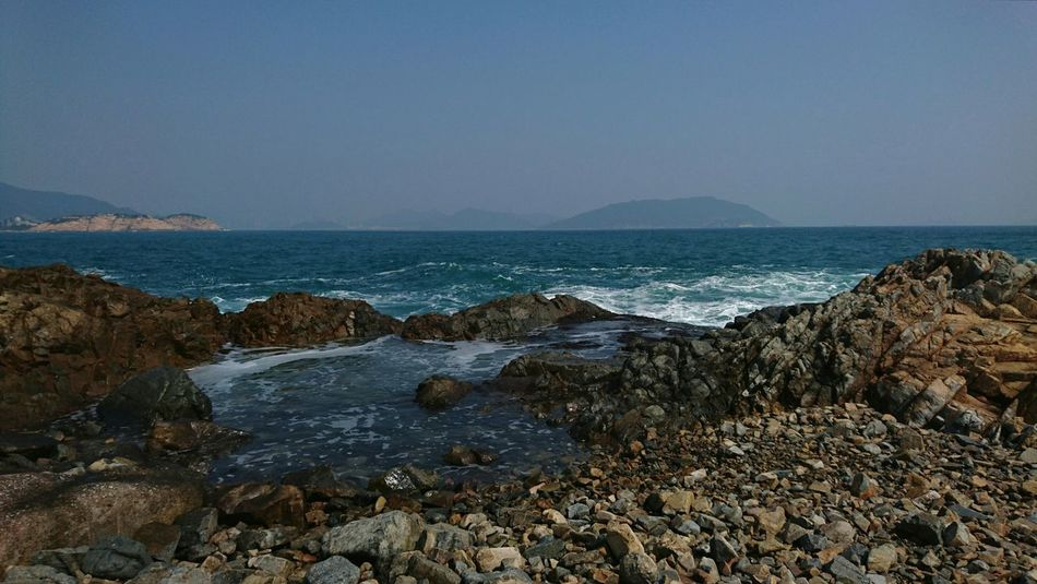 Sea Beach Scenics No People Nature Outdoors Beauty In Nature Day Hong Kong Cape D'aguilar Nature Sky