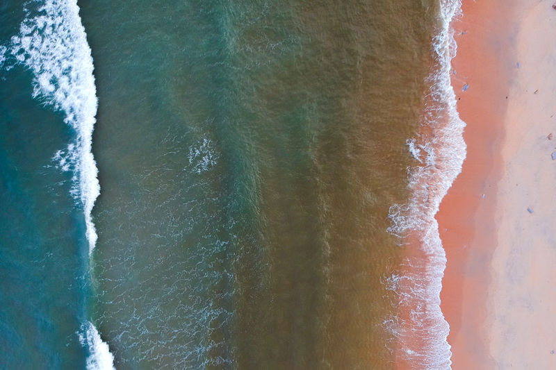 Abstract Backgrounds Close-up Textured  Water Drones Droneshot Dronephotography Drone  Sea Motion Sport Wave Aquatic Sport Surfing Beauty In Nature Nature Day Outdoors Land Beach Full Frame Scenics - Nature Flowing Water