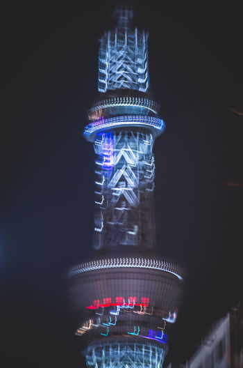 Architecture Abstract Neon Tower Japan Night Lights Imperfection Sky Illuminated No People Motion Glowing Long Exposure Indoors  Blurred Motion Night Blue Black Background Glass - Material Transparent Multi Colored Copy Space Close-up Studio Shot Lighting Equipment Pattern Nature Humanity Meets Technology My Best Photo
