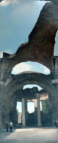 villa adriana, ai giorni nostri Old Ruin The Past Historic Historic Building Ancient Civilization Ancient History Ancient Rome Ancient Visiting
