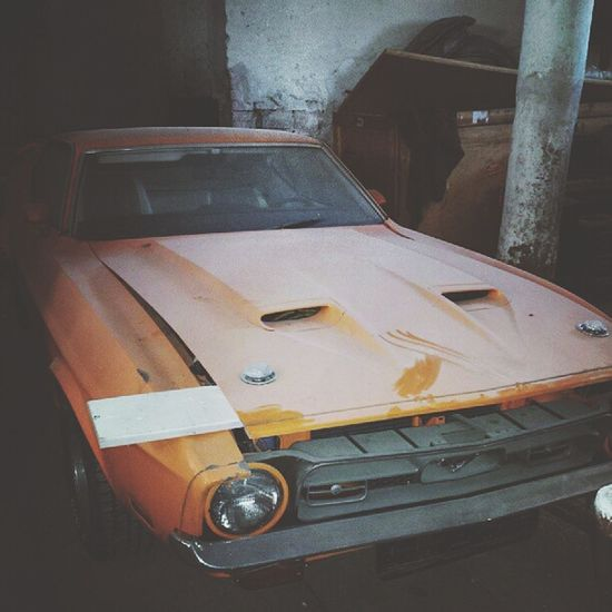 Pretty old Ford Mustang `77 Vintage Cars Photography Car Classic Car