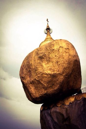 Myanmar Golden Rock Goldenrock Golden Rock Pagoda Golden Rock ASIA ASIA Buddhism