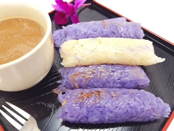 Sticky rice wrapped in banana leaf Sweet Sweet Food Stick Rice Stick Rice Cake Snack Food Coffee Backgrounds Beautiful Hot Drink Thaifood Coffee Time Coffee - Drink Close-up Food And Drink Served Prepared Food Serving Size Ready-to-eat