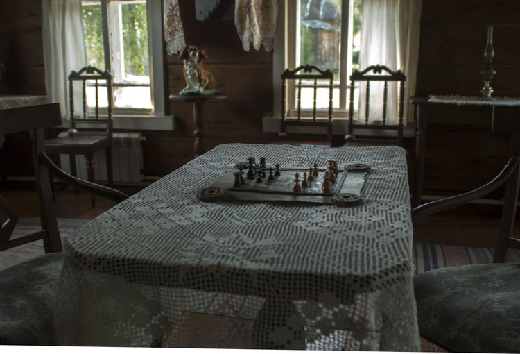 Day Domestic Room Home Interior Indoors  No People PlayChess Stalin Stalin's Chess Window