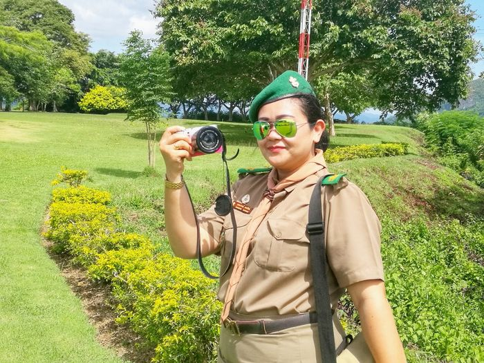 woman In Scout