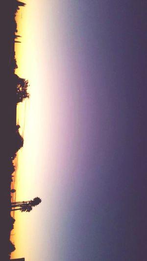 Sunset California Nature Outdoors Calmsky First Eyeem Photo