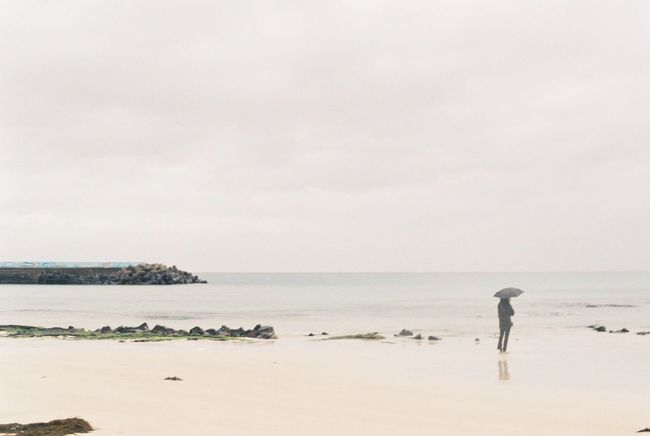Film Nikon Beach Beauty In Nature Copy Space Environment Film Photography Holiday Horizon Horizon Over Water Land Landscape Nature Outdoors People Sand Scenery Scenics - Nature Sea Sky Tranquility Water