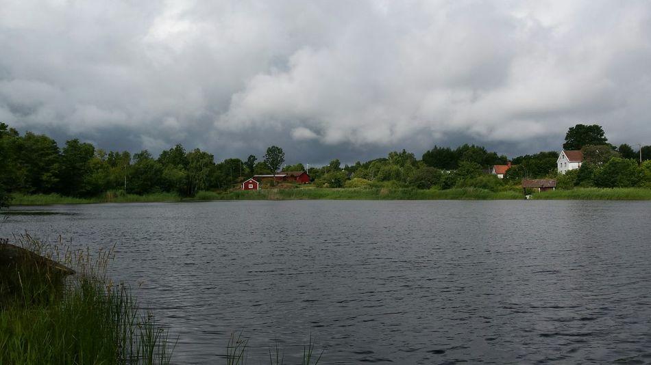 Sverige Småland Oskarshamn Relaxing Walking Around