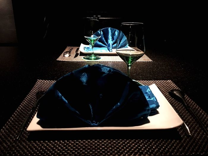 Dinner for two Table Chair No People Indoors  Technology Day Black Background Posh Exclusive  Dinner Dating Finedining Chinese Chineserestaurant
