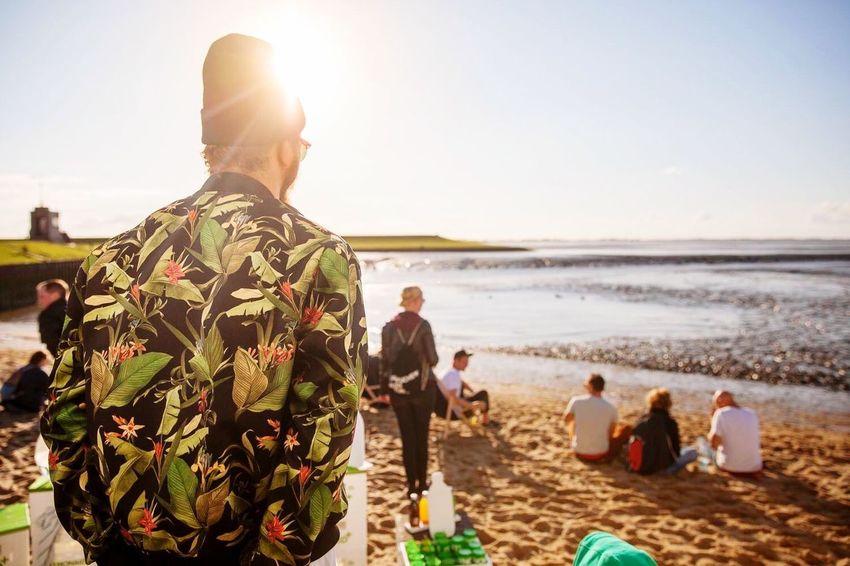Random Dangast Wattenschlick Festival Sunset North Sea Jever Beer Shoot Capture