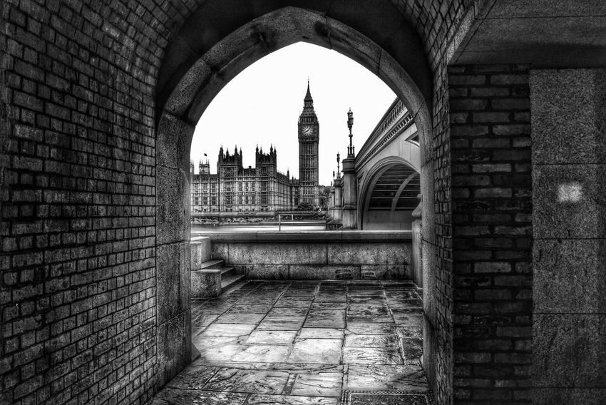 Big Ben view from the Arch Architecture Built Structure Building Exterior Arch No People Travel Destinations Outdoors Cultures Day Sky Big Ben London Architecture LONDON❤ London_only Elizabethtower Elizabeth Tower EyeEm LOST IN London