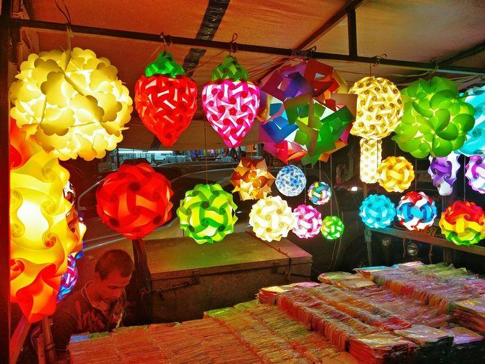 Colorful shop for sale