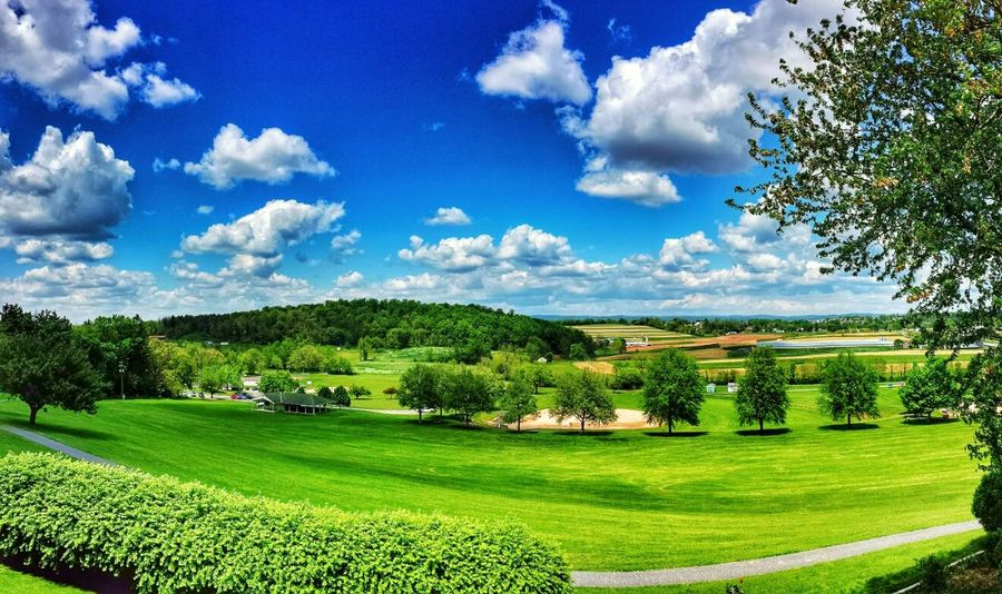 This is what it looks like from our back yard on the deck today. We love our view. Panoramic The Minimals Sky And Clouds Sky Collection
