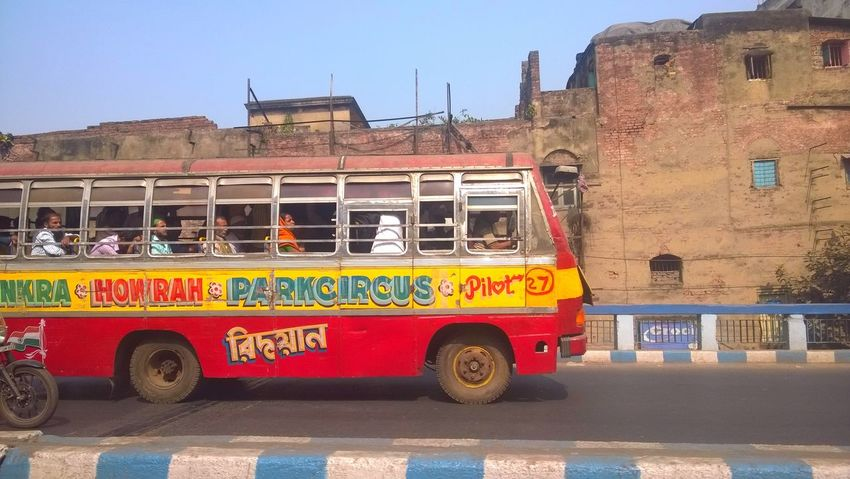 Colourful Buses Bus Funny Bus Land Vehicle Transportation