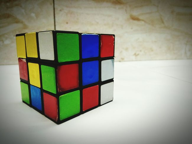 Cube Shape Cubedesign Cube Multi Colored Indoors  Toy Block Strategy Close-up Puzzle  Intelligence Geometric Shape Cube Games Games Colour Multicoloured