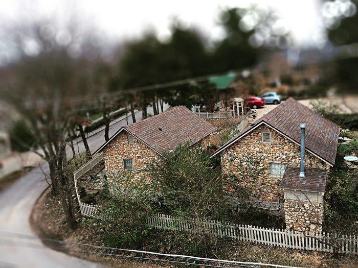 Rock Houses Tilt Shift Effect First Eyeem Photo