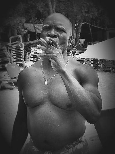 Blackandwhite Cigar Amazing People