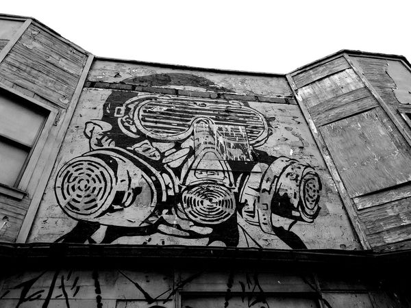 1 Art Expression City PerspectivesGraffiti & Streetart Building Exterior Black And White Black & White Monochrome Graffiti Symbolism Is Everything Urban Art Low Angle View Close-up Day Outdoors Gas Mask Graffitti Wall Textures And Surfaces Street Art Public Art Wall Textures Architecture Graffitiworldwide Waterloo Arts District Welcome To Black Resist EyeEm Diversity The Secret Spaces The Street Photographer - 2017 EyeEm Awards The Photojournalist - 2017 EyeEm Awards The Street Photographer - 2018 EyeEm Awards The Photojournalist - 2018 EyeEm Awards The Traveler - 2018 EyeEm Awards The Architect - 2018 EyeEm Awards The Creative - 2018 EyeEm Awards