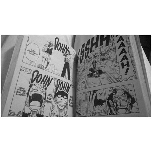|OnePiece| 💢 Afterstudy OnePiece Relax Manga awesome monkeydrufy otakuworld eiichorooda n4 beginningofit instamanga read blackandwhite like followme picoftheday