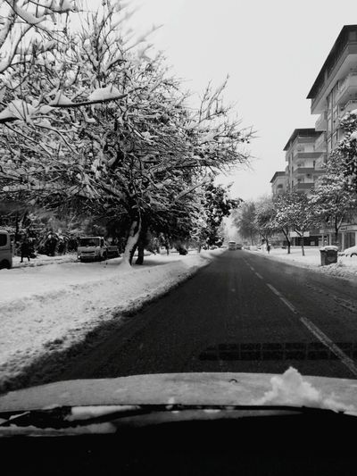 Kar Gaziantepkalesi Gaziantep Tree Snow Winter Car Cold Temperature City Day Nature Outdoors No People Snowing