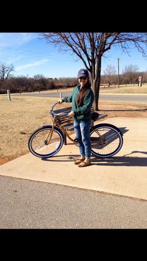 Bike riding Hefnerlake Oklahoma City