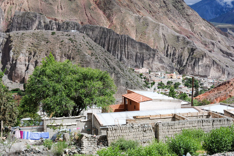 Andes Architecture Argentina Building Exterior Built Structure Day Indigenos Iruya Mountain Nature No People Outdoors Tree Valley Village