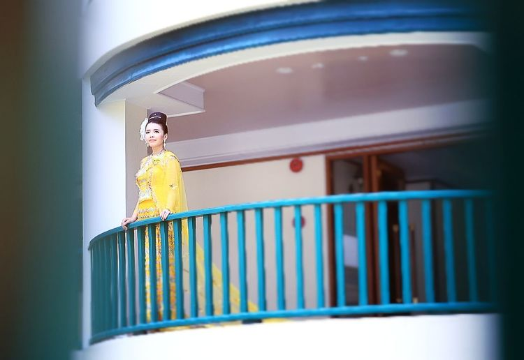 Myanmardress Myanmargirl Cannon Wedding Cultural Sai Myanmardress