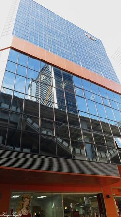 Reflexions Architecture Bangkok Building Exterior Built Structure City Glass Glass - Material Low Angle View Modern Office Building Outdoors Reflection Reflexions Skyscraper Tall Tall - High Thailand Tower