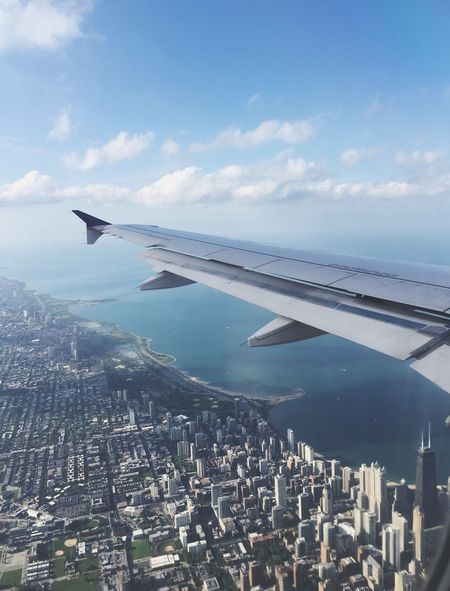 My Favorite Place Chicago Planes Plane Flying Airport Airplane City Water Lake Greatlakes