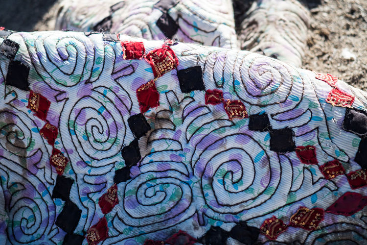 Multi Colored Pattern Close-up No People Day Full Frame Textile Variation Market For Sale Retail  Choice Art And Craft Large Group Of Objects Backgrounds Still Life Market Stall Outdoors Creativity Design Floral Pattern Kyrgyzstan Ornament Pamir Yurt