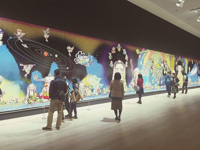 五百羅漢図 朱雀 Check This Out Art Museum Art Gallery Roppongi Japan Takashi Murakami 日本 現代アート