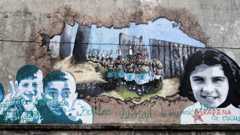 Art And Craft Basque Country Building Exterior Built Structure Creativity Graffiti Mural Painting Outdoors Wall Murals Political Murals Political Street Art Showcase March Ladyphotographerofthemonth Street Photography Here Belongs To Me Telling Stories Differently The Photojournalist - 2016 EyeEm Awards Feel The Journey Original Experiences