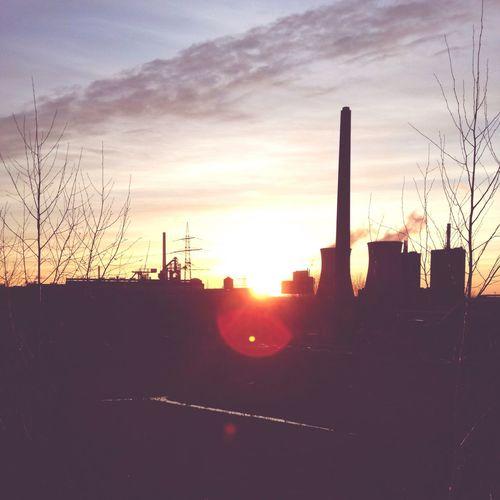 Sunset Sundown Sunday Enjoying Life Hello World This Is Germany Wonderful Spring Afternoon Sun