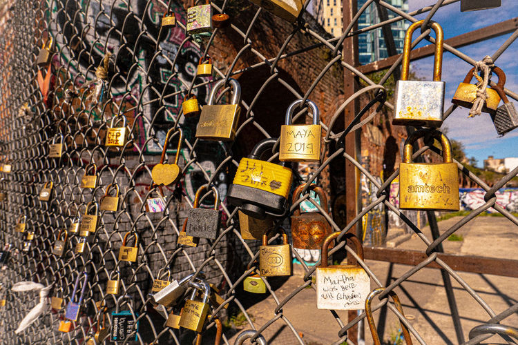 Love Padlocks England London Leica D-Lux 7 Lock Safety Padlock Day Security Metal Protection Large Group Of Objects No People Hanging Love Fence Architecture Outdoors Barrier Abundance Boundary Positive Emotion Emotion Built Structure Love Lock