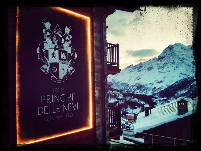 Cervinia Italy Checking Out