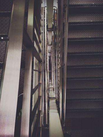 Stairs Stairways Walking Around Lookingdown