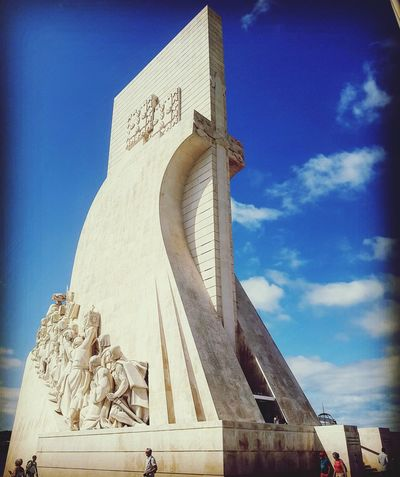 Travel Destinations Architecture Travel History Day Sky Portugal Lisboa Lisbon - Portugal Founders EyEmNewHere